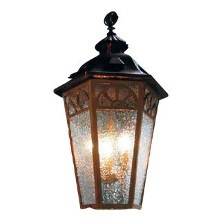 American Arts & Crafts Lantern