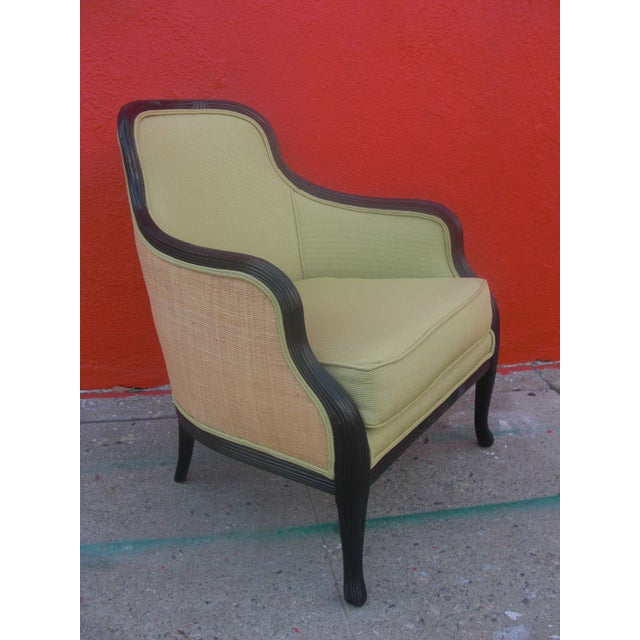Unique Upholstered Chairs: Custom Upholstered Barrel-Back Chair