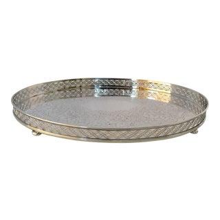 Reed & Barton Pierced Silver Tray