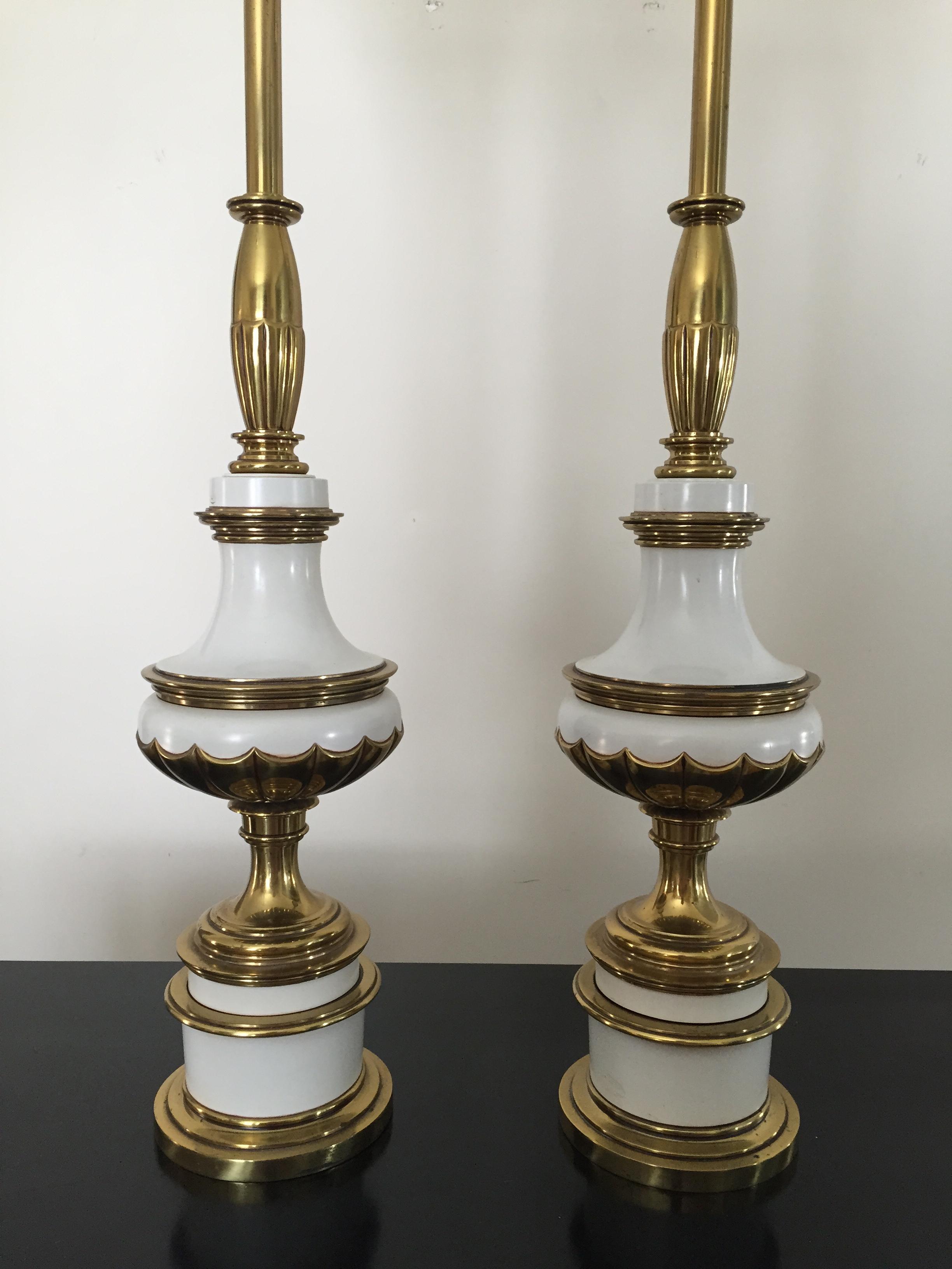 hollywood regency lighting. hollywood regency stiffel torchiere lamps pair image 5 of lighting