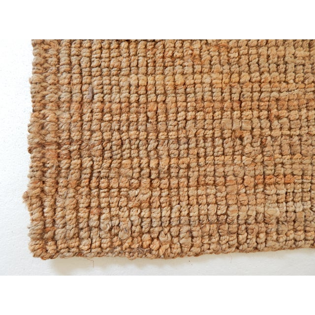 Natural Woven Jute Rug - 2′11″ × 5′ - Image 3 of 3