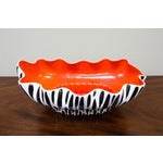 Image of Beswick Mid-Century Zebra Stripe Planter or Bowl