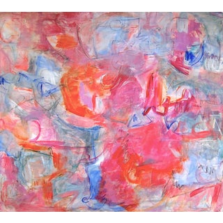 "Trixie Pitts ""Can Can"" Abstract Painting"
