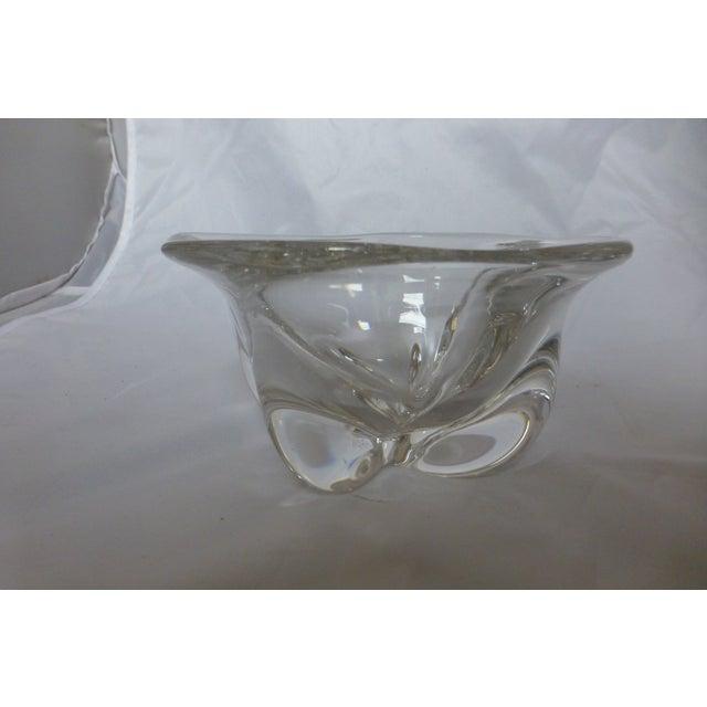 Vintage 1960s Swedish Orrefors Glass Bowl - Image 6 of 6