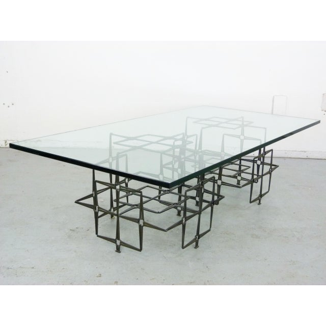Studio Crafted Nail Base Brutalist Coffee Table - Image 3 of 7