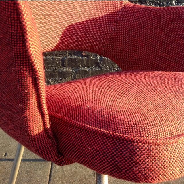 Eero Sarrinen Red Executive Chair - Image 5 of 5