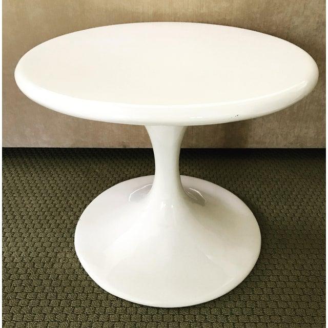 Saarinen Style Tulip Side Table - Image 5 of 8