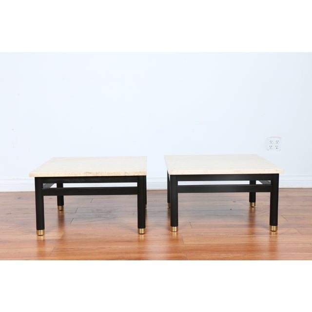 Image of Lacquered Side Tables - A Pair