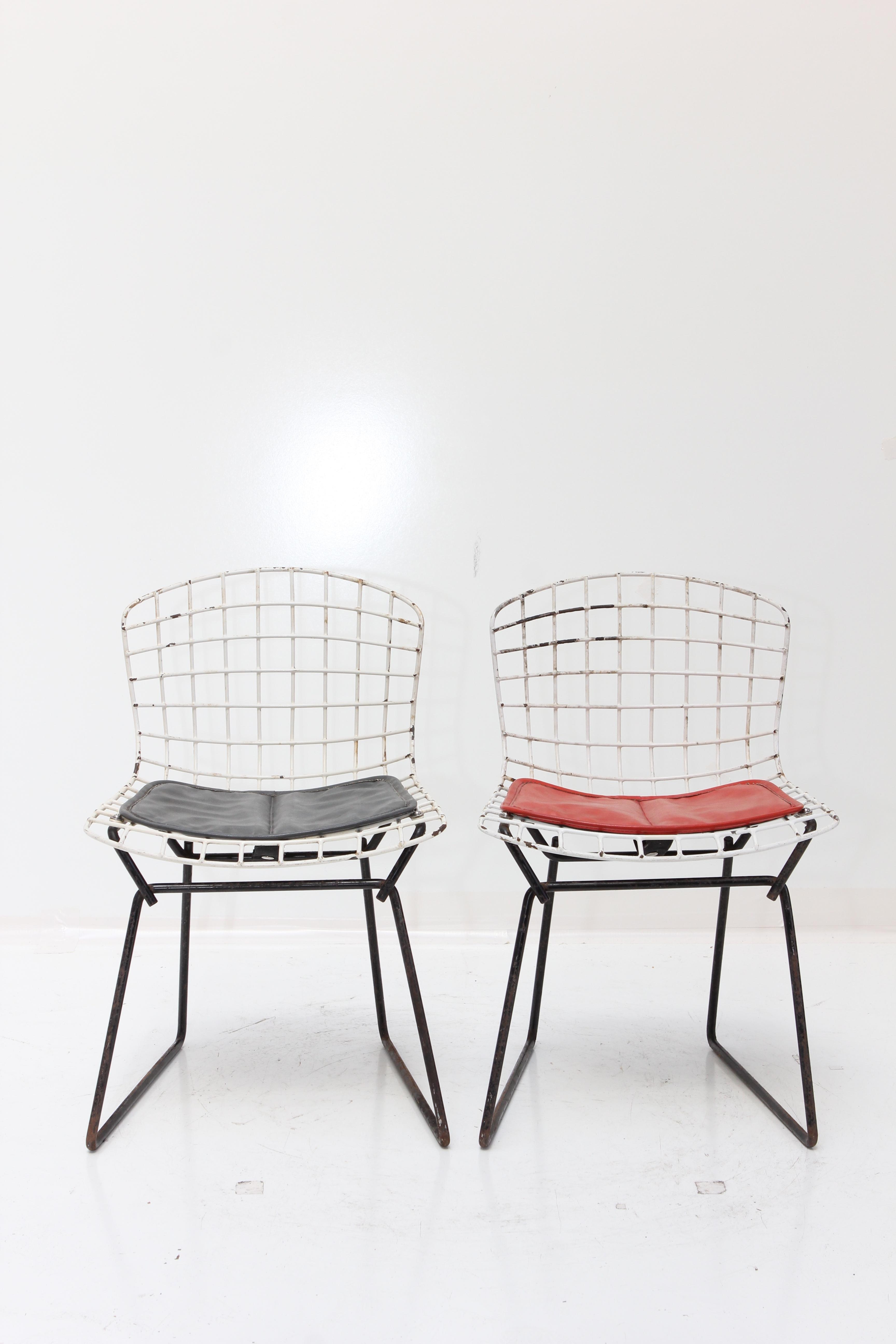 Knoll Bertoia Child Size Chairs   Set Of 5   Image 3 Of 11