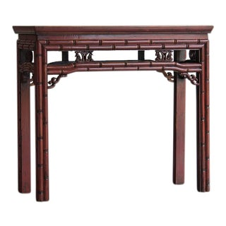 T'ung Chi Period Chinese Lacquered Altar Table circa 1865