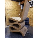 """Image of Signed Frank Gehry """"Wiggle"""" Chair"""