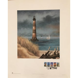 Howard Koslow Morris Island Lighthouse Limited Edition Print