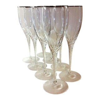 Lennox Millenium Collection Champagne Flutes - Set of 8