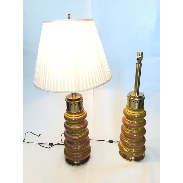 Image of Vintage Stiffel Table Lamps - A Pair