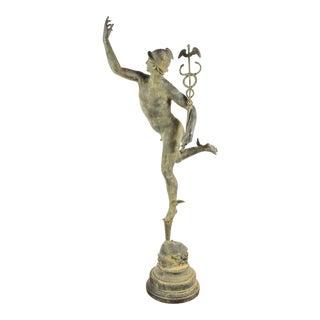 Grand, Bronze Sculpture of Mercury