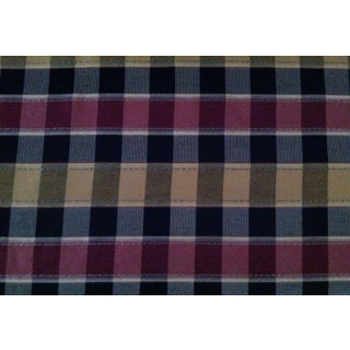 Checkered Tartan Fabric