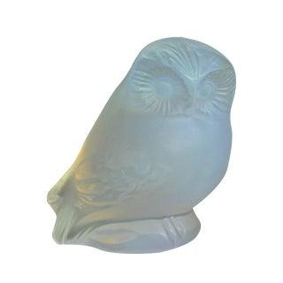 Lalique Opalescent Owl