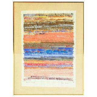 Alan Davis Magic Carpet Watercolor Gouache