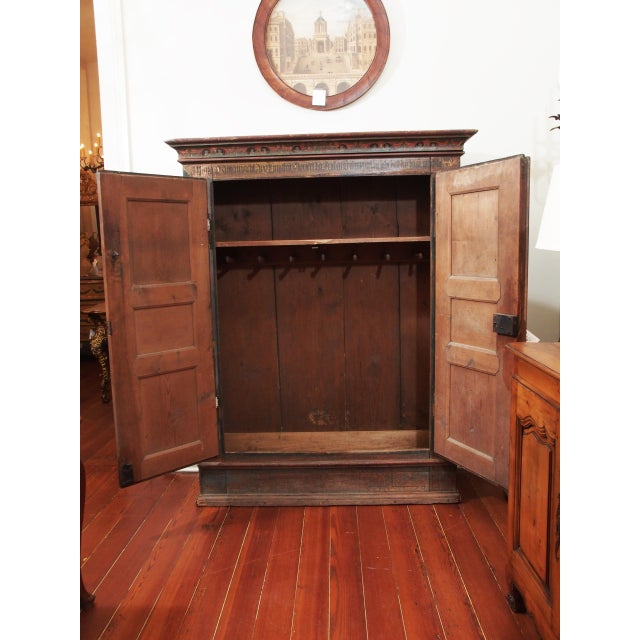 world class a painted european armoire decaso. Black Bedroom Furniture Sets. Home Design Ideas