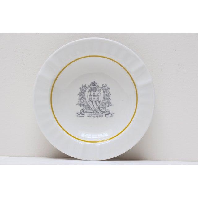 Ristorante San Marino Porcelain Ashtray - Image 2 of 6