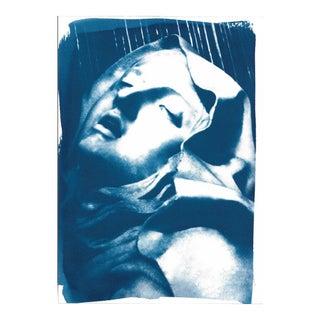 "Bernini's ""Ecstasy of Saint Teresa"" Cyanotype Print"