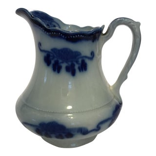 Flow Blue Small Pitcher