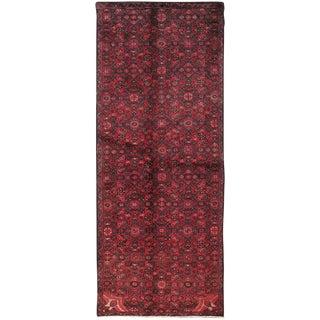 """Vintage Hamadan Wool Area Rug - 3' X 7'1"""""""
