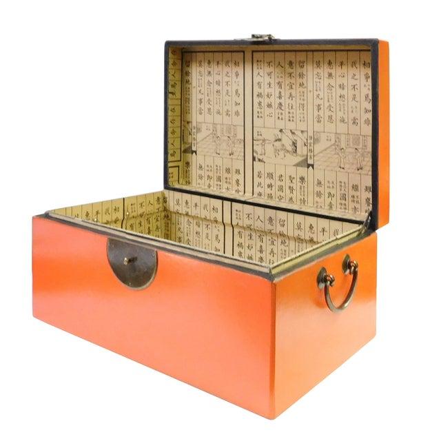 Orange Rectangular Container Box - Image 4 of 6