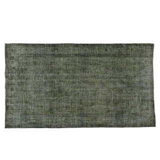 "Overdye Vintage Turkish Grey/Green - 4'-5"" x 7'-9"""