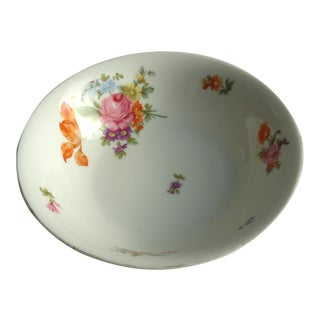 KPM Floral Porcelain Vegetable Bowl