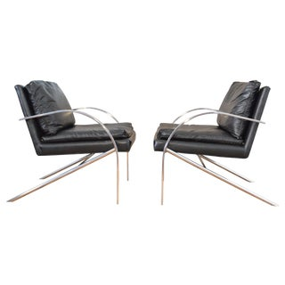 Paul Tuttle Arco Chairs - A Pair