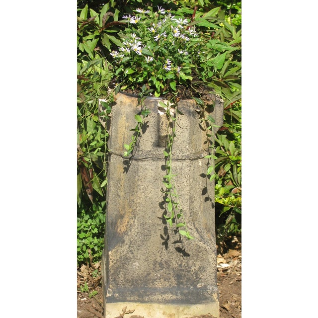 English Glazed Terracotta Chimney Pot - Image 4 of 5