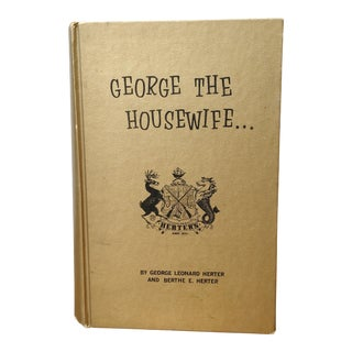 George the Housewife Vintage Book