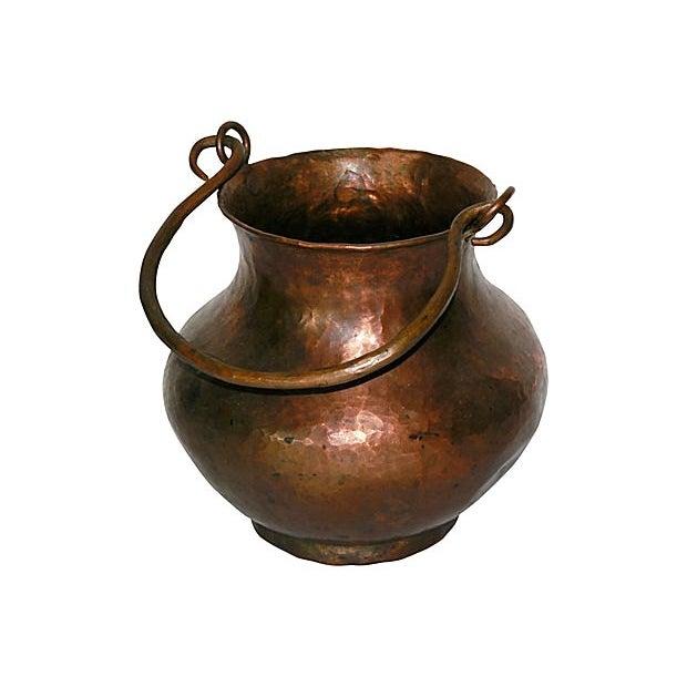 Hand Hammered Copper Vessel - Image 1 of 4