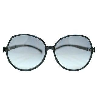 Vintage Oversized Black Sunglasses Made In France