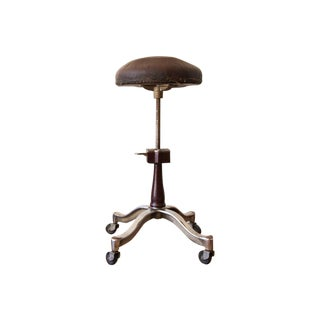1920s antique medical stool art deco furniture san francisco