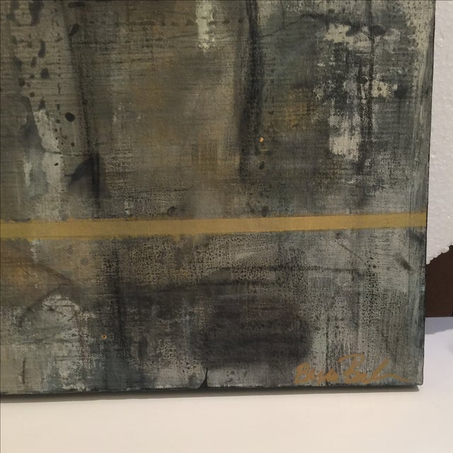 Image of Bryan Boomershine 'Coliseum' Abstract Painting