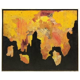 Abstract Expressionist Collage by Shirley Bleviss