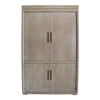 Henredon Blonde Storage Cabinet