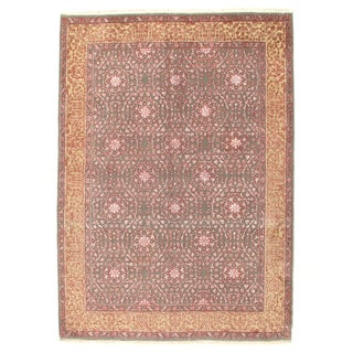 "Pasargad Hand-Knotted Tabriz Rug - 5'8"" X 8'"
