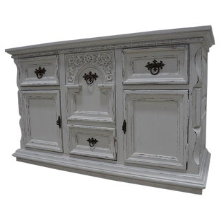Vintage Ornate Chic Dresser Chest