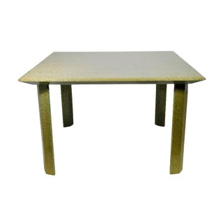 Italian Green Dining Table