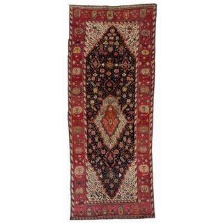1880s Antique Hand Made Caucasian Karabagh Rug- 4′6″ × 11′7″