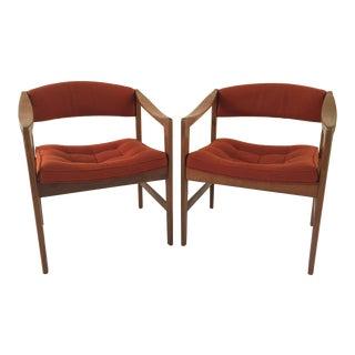 Dux Danish Modern Side Chairs - A Pair