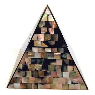 Mid Century Pyramid Trinket Box