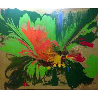 Green Abstract Giclee Print