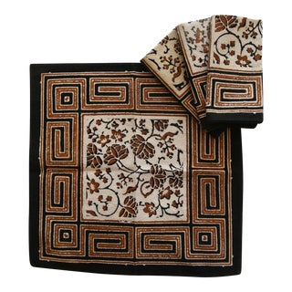 Batik African Tribal Napkins - Set of 4