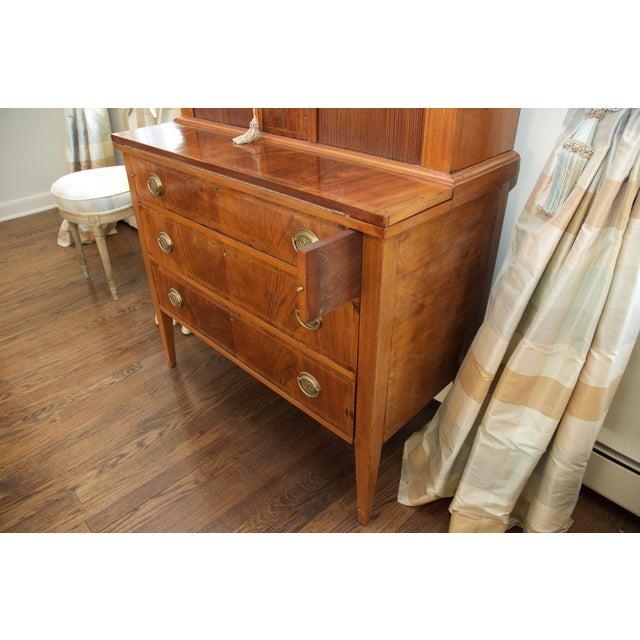 Antique Federal Style Mahogany Secretary Desk - Image 7 of 10