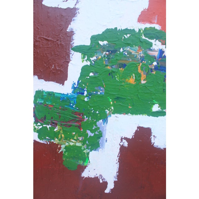 Mid-Century Modern Abstrac Expressionist Painting - Image 5 of 11