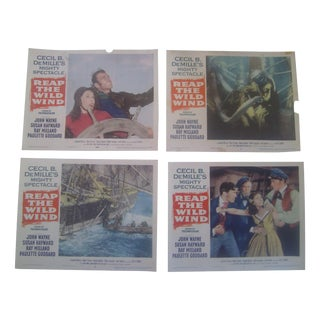 "1954 ""Reap The Wild Wind"" Lobby Cards - Set of 8"